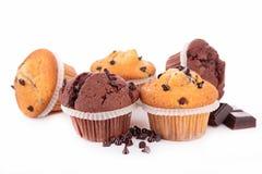 Isolerad muffin Arkivbild