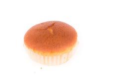 Isolerad muffin av bananefterrätten Arkivfoton