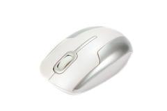 isolerad mus för bakgrund tät dator upp white Royaltyfria Bilder