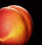 isolerad nektarin Arkivfoton