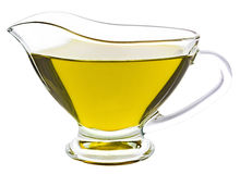 isolerad olive white för olja Royaltyfri Bild