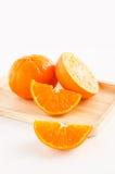 Isolerad orange vertikal sikt Fotografering för Bildbyråer