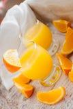 isolerad orange white för fruktsaft Arkivbilder