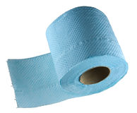 isolerad paper toalett Royaltyfria Foton