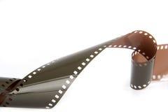 Isolerad parallell kamera för filmrulle Royaltyfria Bilder