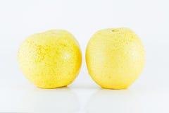 isolerad pear Fotografering för Bildbyråer