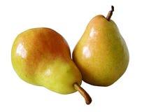 isolerad pear Royaltyfria Bilder