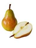isolerad pear Arkivfoto