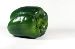 isolerad pepparwhite för klocka green arkivbilder