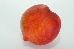 Isolerad persika Fotografering för Bildbyråer