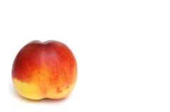 isolerad persikawhite royaltyfri bild