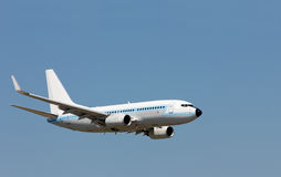 isolerad photoshop för flygplan flyg Royaltyfri Fotografi