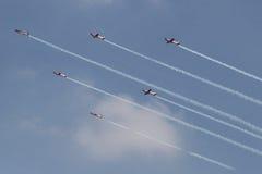 isolerad photoshop för flygplan flyg Arkivbild