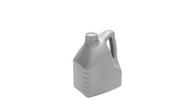 isolerad plastic white för bakgrund behållare Arkivbild