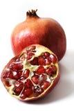 isolerad pomegranate Royaltyfria Foton