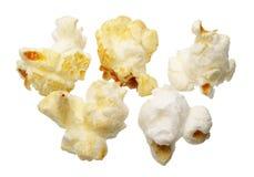 isolerad popcorn Arkivfoto