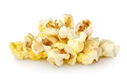 isolerad popcorn Royaltyfri Bild