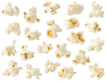 Isolerad Popcorn Arkivfoton
