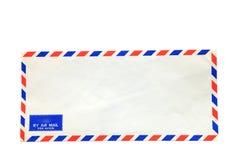isolerad post för luft kuvert Royaltyfri Bild