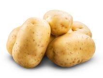 isolerad potatis royaltyfri fotografi