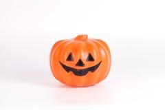 isolerad pumpawhite för bakgrund halloween Arkivfoto
