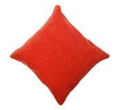 Isolerad röd kudde - Fotografering för Bildbyråer