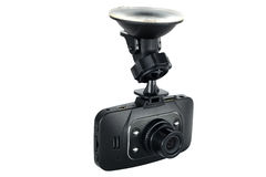 Isolerad registreringsapparat för bilkameravideo Royaltyfri Fotografi