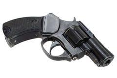 Isolerad revolver Royaltyfri Foto