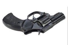 Isolerad revolver Royaltyfria Foton