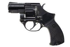 Isolerad revolver Fotografering för Bildbyråer