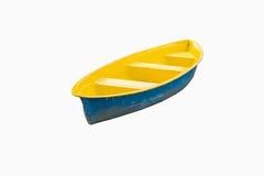 Isolerad roddbåt Royaltyfri Bild