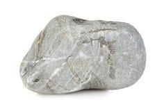 isolerad rund sten Royaltyfri Bild