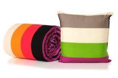 isolerad sängkläder Royaltyfria Foton