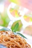 isolerad såsspagettitomat Arkivbild