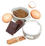 isolerad sötsak för cake ingredienser Royaltyfri Foto