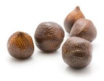Isolerad Salak snakefruit arkivfoton