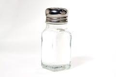 isolerad salt shaker arkivfoton