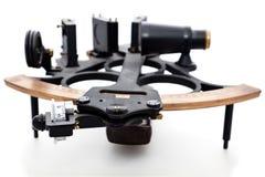 isolerad sextant Royaltyfri Bild