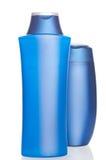 isolerad shampoowhite för bakgrund flaska Arkivfoton