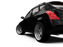 isolerad sikt för bil closeup Fotografering för Bildbyråer