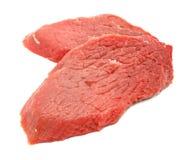 isolerad skivad white för meat red Royaltyfria Foton