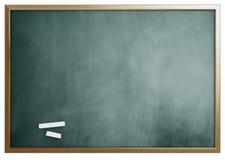 isolerad skolawhite för bakgrund blackboard Royaltyfri Bild
