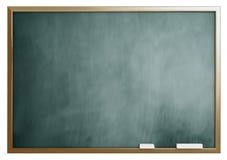 isolerad skolawhite för bakgrund blackboard Fotografering för Bildbyråer