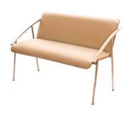 isolerad sofa Royaltyfri Foto
