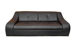 isolerad sofa Arkivfoton