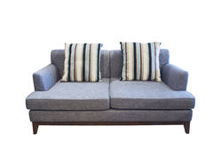 isolerad sofa Royaltyfria Bilder