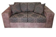 isolerad sofa Royaltyfri Fotografi