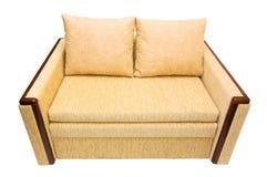 isolerad soffa Royaltyfri Fotografi