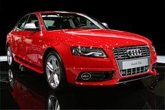 Isolerad sportbil - Audi S4 Royaltyfri Foto