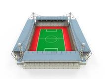 Isolerad stadionbyggnad Royaltyfria Bilder